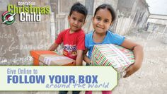 2012 Follow Your Box with Operation Christmas Child!  See where you box is delivered and know that a child in that country will receive the gift of Jesus!