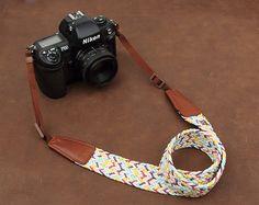Camera Strap  Universal  Camera Strap  DSLR Camera by LeslieStudio, $29.99. so versatile, love it