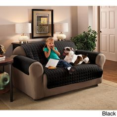Microfiber Furniture Protector Sofa Slipcover | Overstock.com Shopping - Big Discounts on Sofa Slipcovers