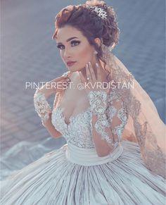 Kurdish bride Pinterest: @kvrdistan