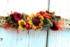 crochet bracelet (headband?)