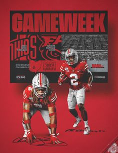 poster nfl Nascar – Creative Dress Of College Game Day Buckeyes Football, Ohio State Football, Ohio State Buckeyes, Nfl Football, Baseball, Nfl Superbowl, Football Poses, Sport Inspiration, Graphic Design Inspiration
