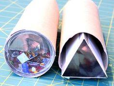 Kaleidoskop, Anleitung, Basteln, selber machen, Caleidoscope, Mehr