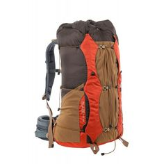 TOFINE Waterproof Camping Backpack Big Bags for Traveling with Rain Cover  Red 40 Liter  9b3a4c8008a3a