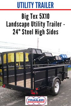 Carry On 6 4 X 10 Landscape Utility Trailer 3k Low Sides