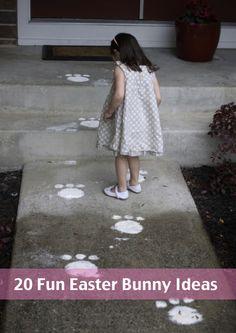 20-Fun-Easter-Bunny-Ideas...http://homestead-and-survival.com/20-fun-diy-easter-bunny-ideas/