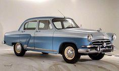 ГАЗ-21 «Волга». Выпускалась с 1956 по 1970 год. В ходе проектирования был широко использован опыт зарубежных производителей
