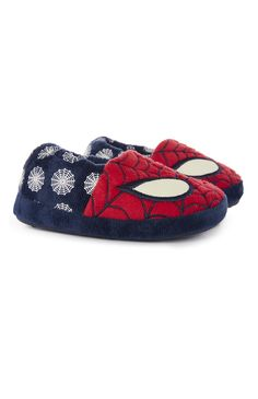 Spiderman slippers from Primark!