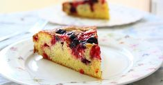 This is one of the easiest cakes I know and therefore I do make it very often. It doesn't contain much butter because I just w...