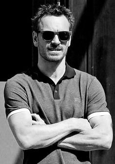 Michael Fassbender in New York