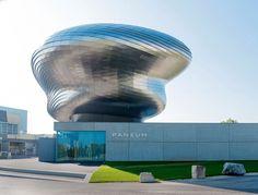 PANEUM, Wunderkammer des Brotes, Austria, Coop Himmelblau Architects, Stainless Steel Shingles, Photography Markus Pillhofer