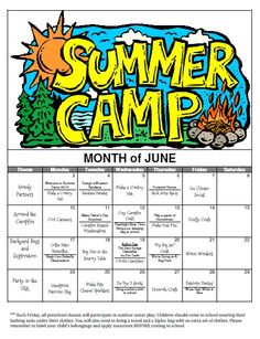89 Best Home Education Summer Camp Themes Images Activities