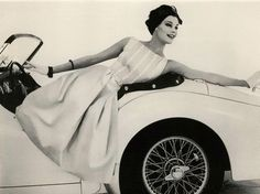 1957 Triumph TR-3 tammy17tummy: Mademoiselle, March 1959 Editorial Scoops of the Month