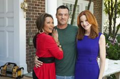 Vanessa Williams, Brian Austin Green, Marcia Cross ~ Desperate Housewives ~ Behind the Scenes ~ Season 7, Episode 4: The Thing That Counts Is What's Inside #amusementphile
