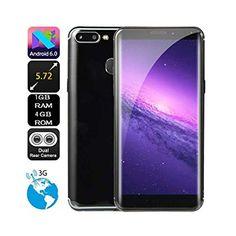 b7471b4d487 5.72 inch Dual HD Camera Unlocked Smart Phone Android 6.0 IPS Full Screen  1GB+4GB GPS 3G Phone