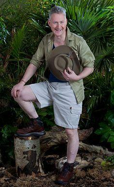 UK I'm a celebrity Jungle photo shoot Lembit Opik