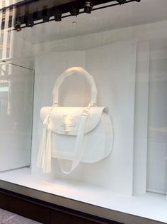 Giant Gucci bag - NYC store window ;)