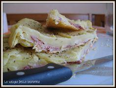 Torta veloce di patate