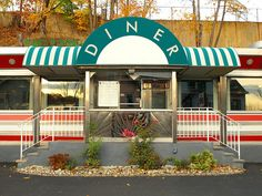 "Boonton Diner - In my hometown, Boonton, NJ. The ""Johnnycakes"" Episode of the Sopranos was filmed Here."