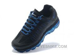 reputable site 5b4f8 93ccd Nike Air Max 95 360 Black Blue Air Jordan, Jordan Shoes, Puma Running,