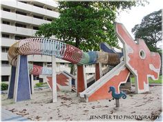 Relive Your Own Childhood with Nostalgia at Singapore Heritage Playground - Toa Payoh Dragon Sand-Pit Playground