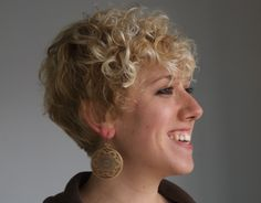short curly hair - seriously considering doing this.