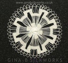 Resultado de imagen para lace circle weaving