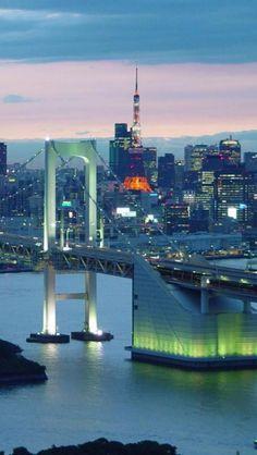 Bayside city life: Odaiba, Tokyo,  Japan