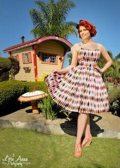 Harlequin dress from Pin Up Clothing