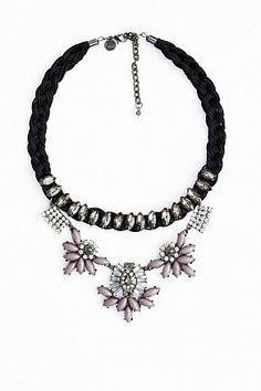 Statement Necklace GRAY by LUAKetten Statementketten Necklace Trend 2014 Halsschmuck Bijouterie