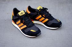 adidas ZX 700 - Black/Orange