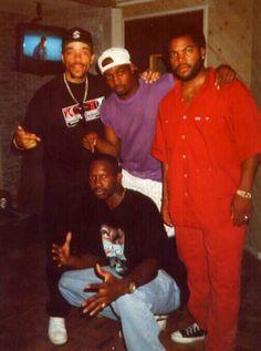 Ice T...Chuck D...Ice Cube & Evil E