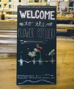 Flower Potluck Party At West Elm #1964372 - Weddbook