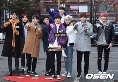 #SF9 Music Bank Arrival