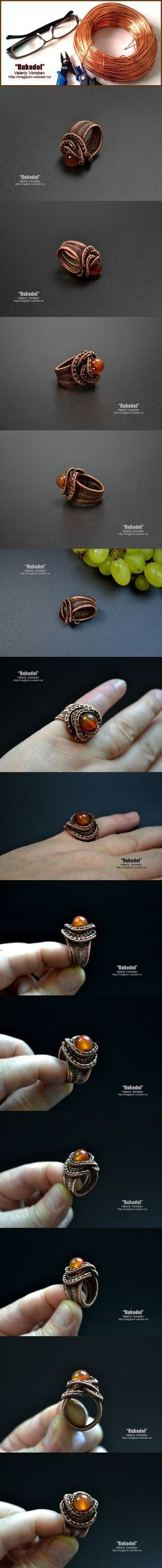 wire wrapped ring. Wire Wrap Tutorial on Etsy More