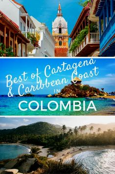 Colonial Cartagena is on the northern coast of Colombia, neighbouring the Caribbean Coast. Explore the old colonial town, Tayrona National Park & El Totumo. Colombia Places to Visit Zougank Eis Blog méi vill Informatioun https://storelatina.com/colombia/travelling #diet #كولومبيا #Colômbia #ڪولمبيا
