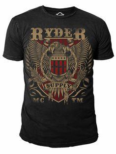 Ryder Supply Clothing Eagle T-shirt (Black)