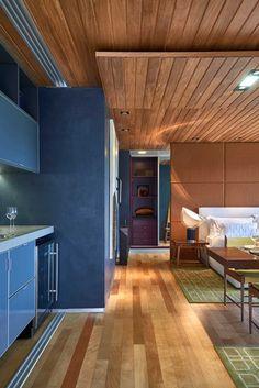 Wooden Ceiling & Floors / Kitchen & Living