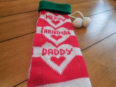 Vintage Christmas Stocking  nostalgic Retro by LittleMarin on Etsy,