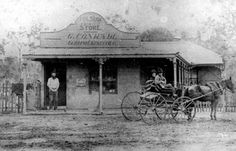 Gottleib Conradis Store on Gympie Rd,Chermside,Queensland in 1888.