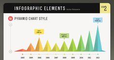 Infographic Vector Elements Vol2 | Vector Objects | Pixeden