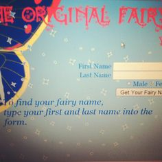11 Best Fairy Name Images Funny Names Name Generator Costumes