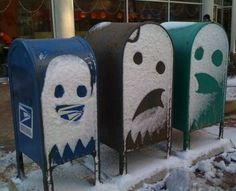 Mail Box Ghosts