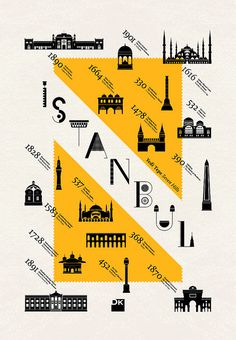 Yedi Tepe / Poster / 70X100 cm by geray gencer, via Flickr