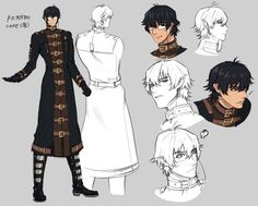 One concept design -- Blood Bank manga