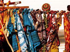 fabrics from Kenya