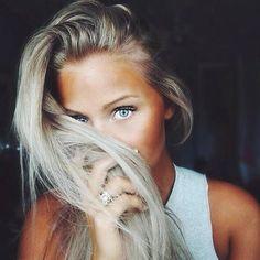 Imagine girl, blonde, and eyes