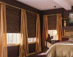 Woven Wooden shades bring the beauty of nature into your home!