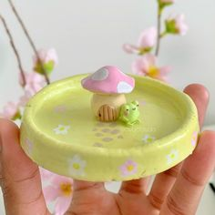 Cute Polymer Clay, Cute Clay, Polymer Clay Crafts, Diy Clay, Ceramic Pottery, Pottery Art, Ceramic Art, Art Sur Toile, Keramik Design