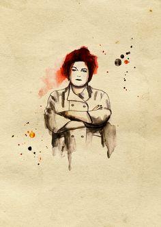 Orange is the New Black : #OITNB ~ Kate Mulgrew -- a.K.a. Galina 'Red' Reznikov
